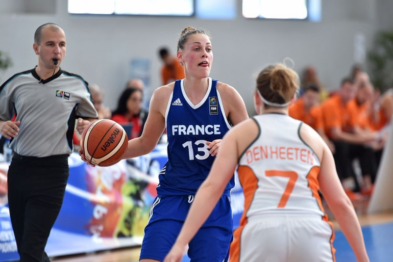 Mathilde Combes - Crédit Photo FIBA Europe